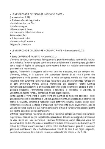 LE MISERICORDIE DEL SIGNORE NON SONO FINITE Pestum 2017 – PadreSilvano