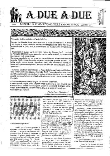 Tracce mensili 1994