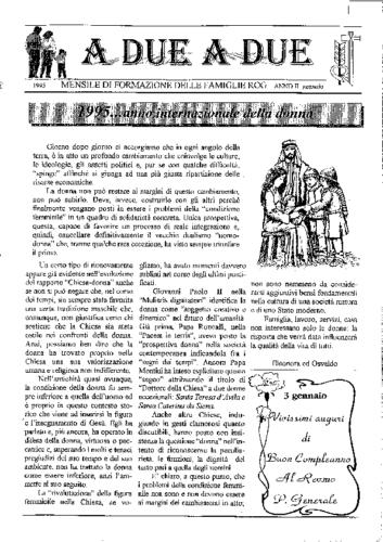 Tracce mensili 1995