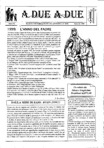 Tracce mensili 1999